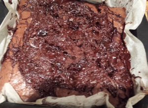 Bacon Brownies Fresh out the oven